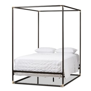 Baxton Studio Maria Queen Canopy Bed by Wholesale Interiors