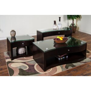 Espresso Coffee Table Sets Youll Love Wayfair - Espresso living room furniture