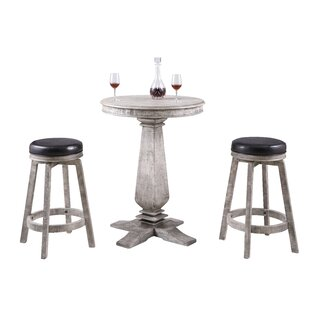 Avendano 3 Piece Pub Table Set