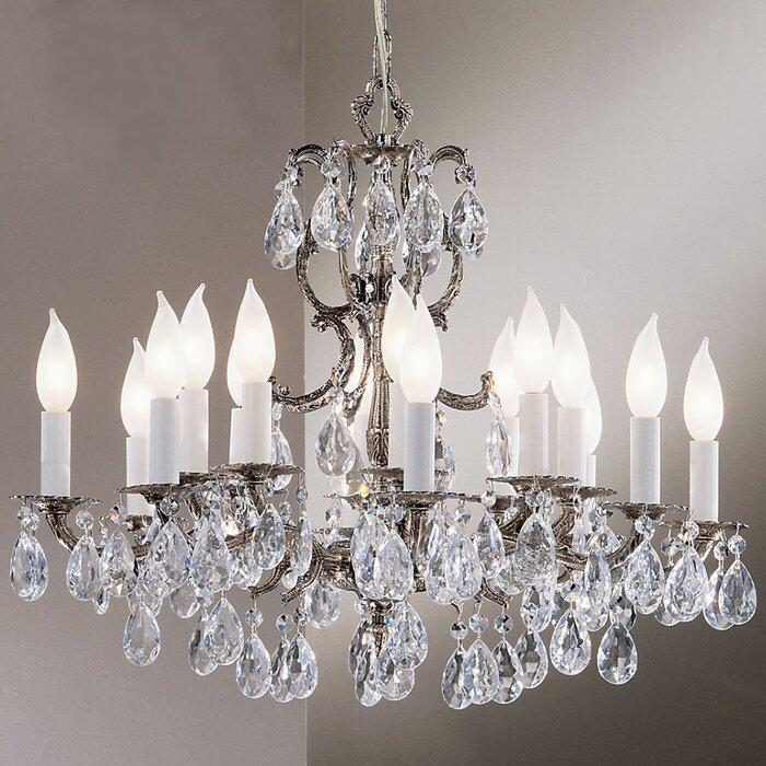 Clic Lighting Barcelona 16 Light Crystal Chandelier Reviews