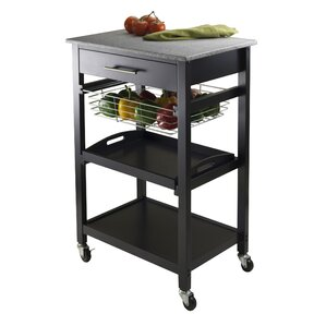 Julia Kitchen Cart by Luxury Home