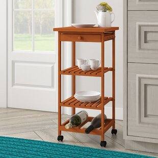 Montserrat Rolling Table Kitchen Cart
