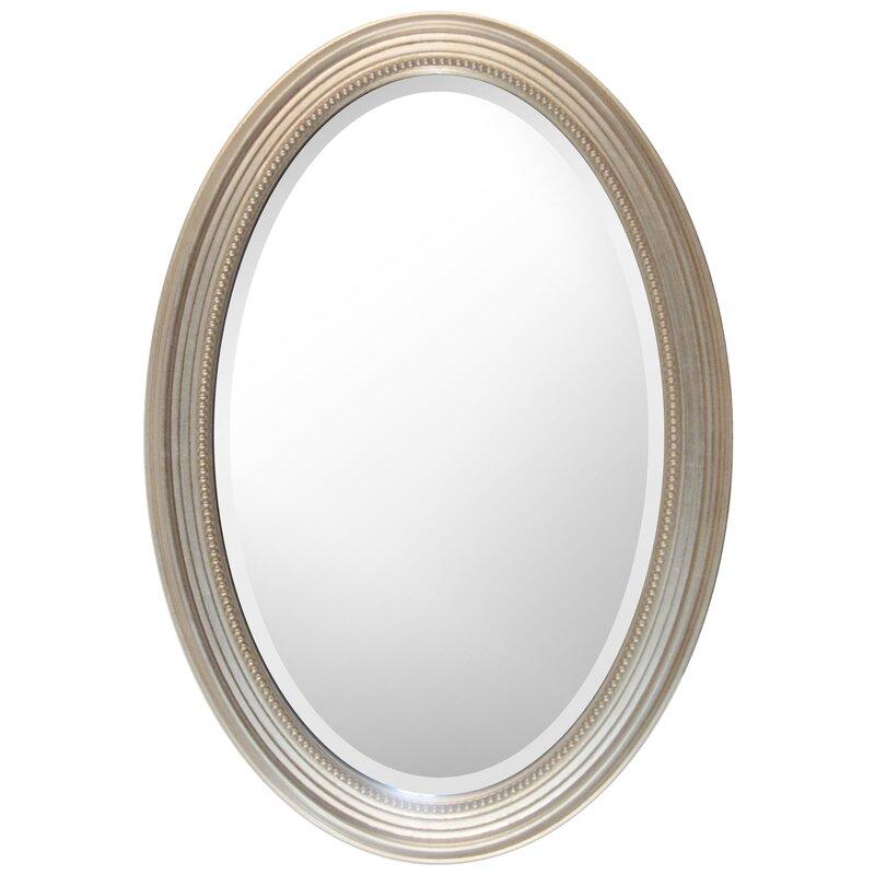 Charlton Home Aryana Oval Framed Wall Mirror | Wayfair