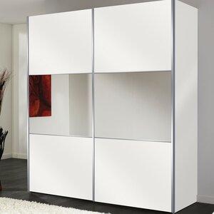 Schwebetürenschrank Solutions Bianco, 216 cm H ..