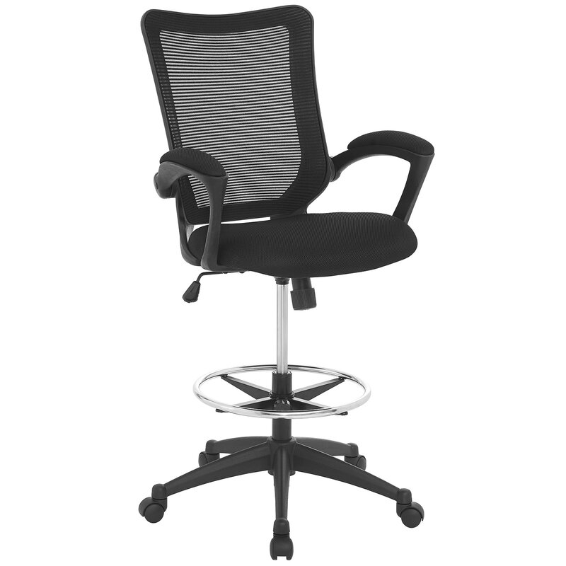 Project Mid-Back Mesh Drafting Chair  sc 1 st  Wayfair & Modway Project Mid-Back Mesh Drafting Chair u0026 Reviews | Wayfair