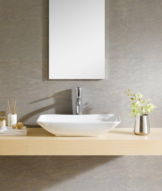 Bathroom Sinks For Sale fine fixtures modern vitreous rectangular vessel bathroom sink