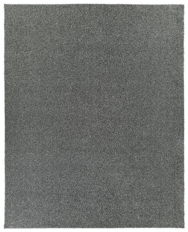 Beautiful PureSoft Shaggy Dark Gray Area Rug
