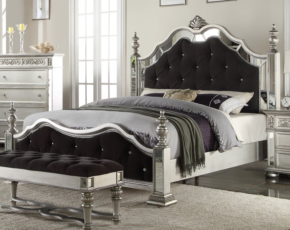 astoria upholstered bed