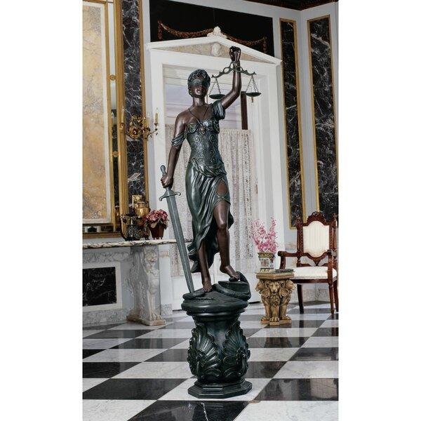 Design Toscano Themis Goddess Of Justice Statue Wayfair