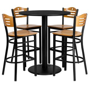 arnab 5 piece pub table set