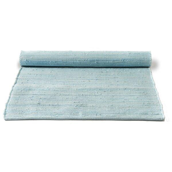 rug solid handgefertigter teppich aus baumwolle in daydream blau. Black Bedroom Furniture Sets. Home Design Ideas