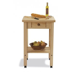 Arts and Crafts Kitchen Cart by Snow R..