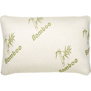 Hypoallergenic Rayon from Bamboo Memory Foam Pillow (Set of 2) by Alwyn Home
