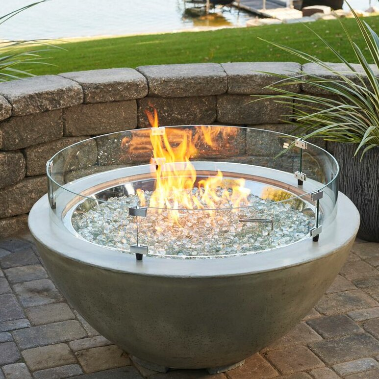 The Outdoor Greatroom Company Cove Propane Fire Pit Table
