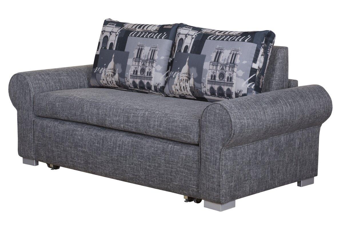 home haus 2 sitzer schlafsofa sintra. Black Bedroom Furniture Sets. Home Design Ideas