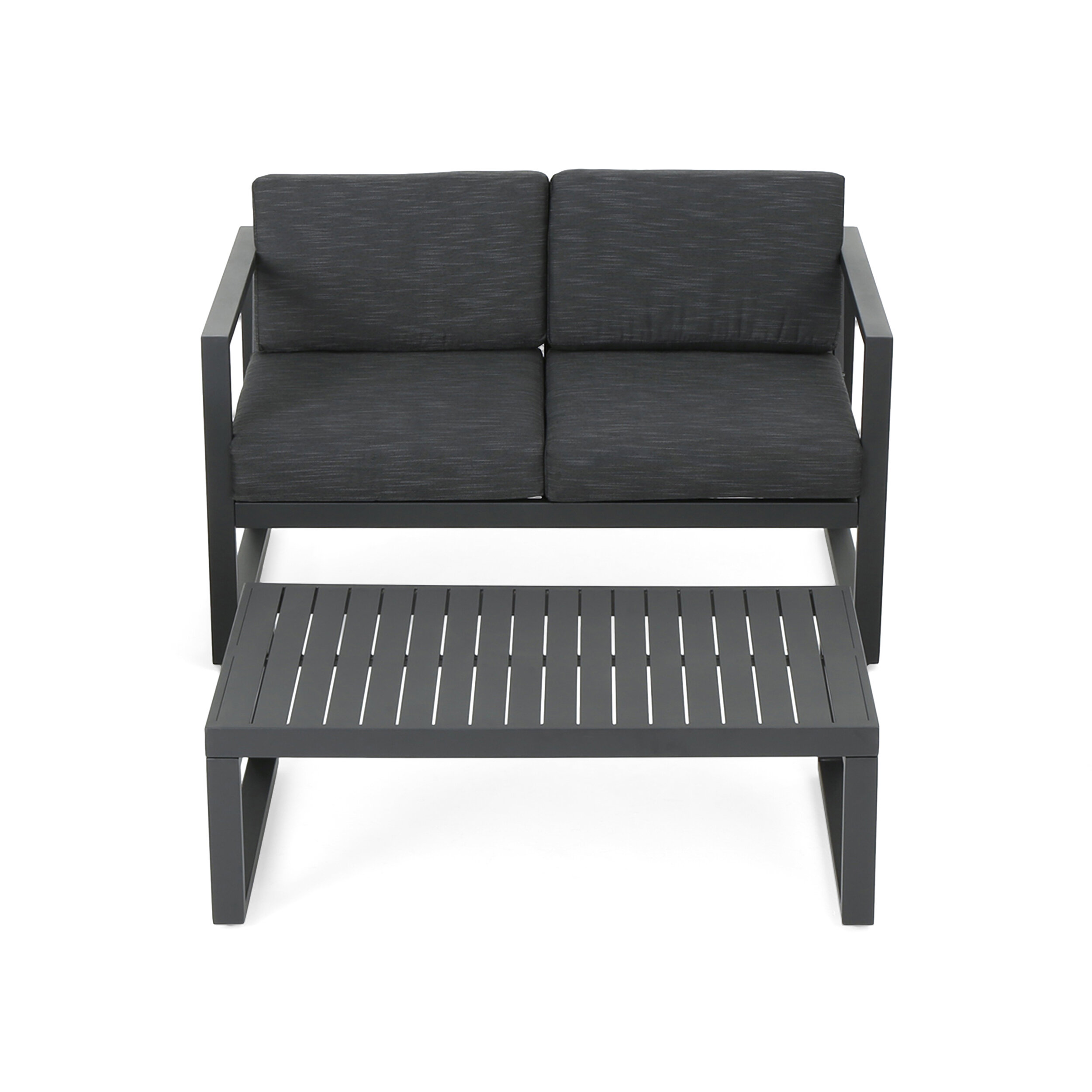 Mirando 2 Piece Sofa Seating Group with Cushions