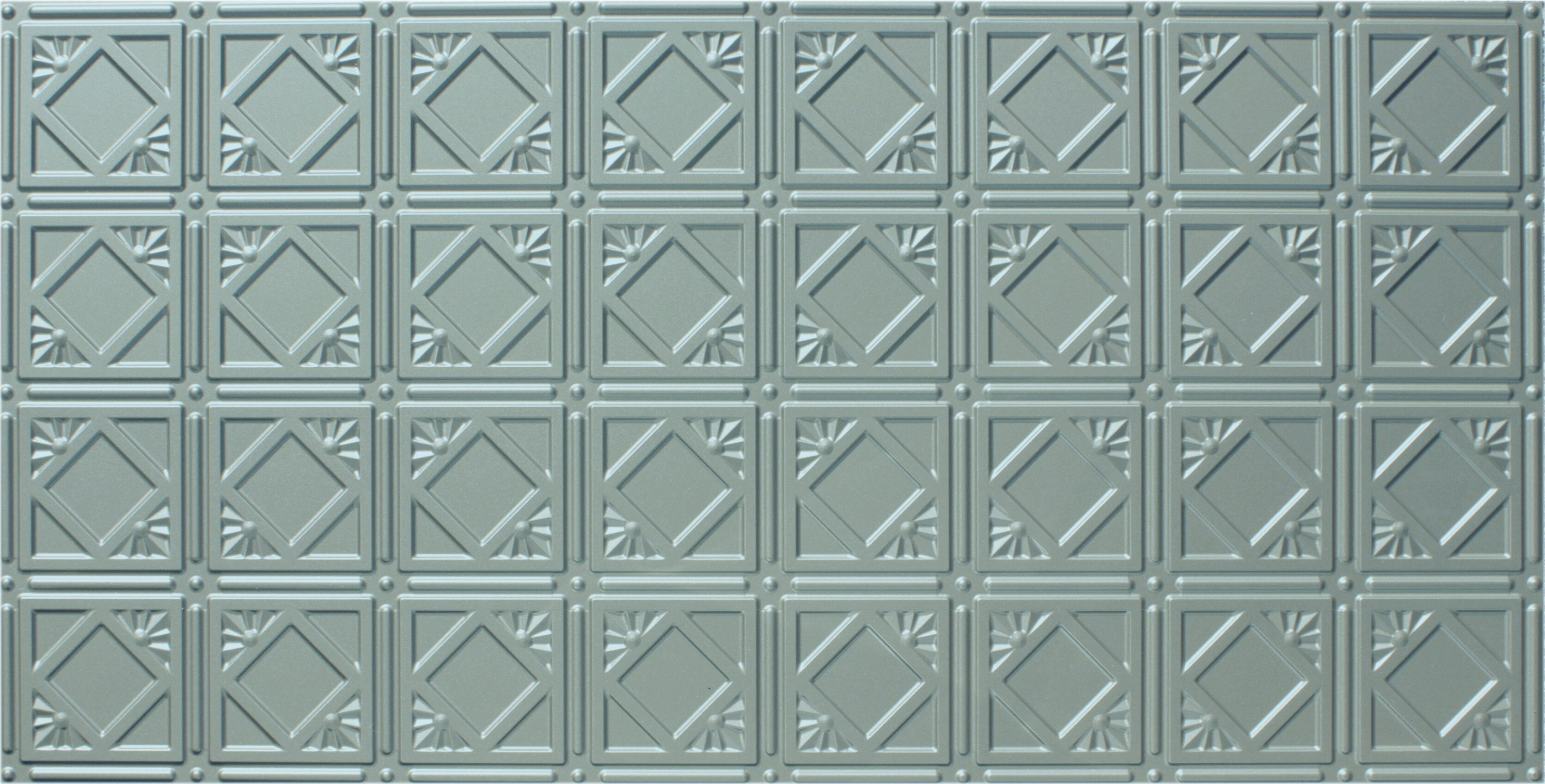 Global Specialty Products Glue Up Diamond 2 x 4 Tin Ceiling Tile