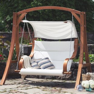 Swinging patio furniture