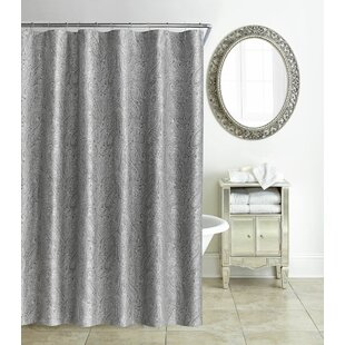 Gray Silver Paisley Shower Curtains Youll Love