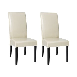 High Back Upholstered Dining Chair (Set Of 2)