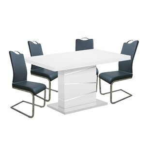 Maes 5 Piece Dining Set