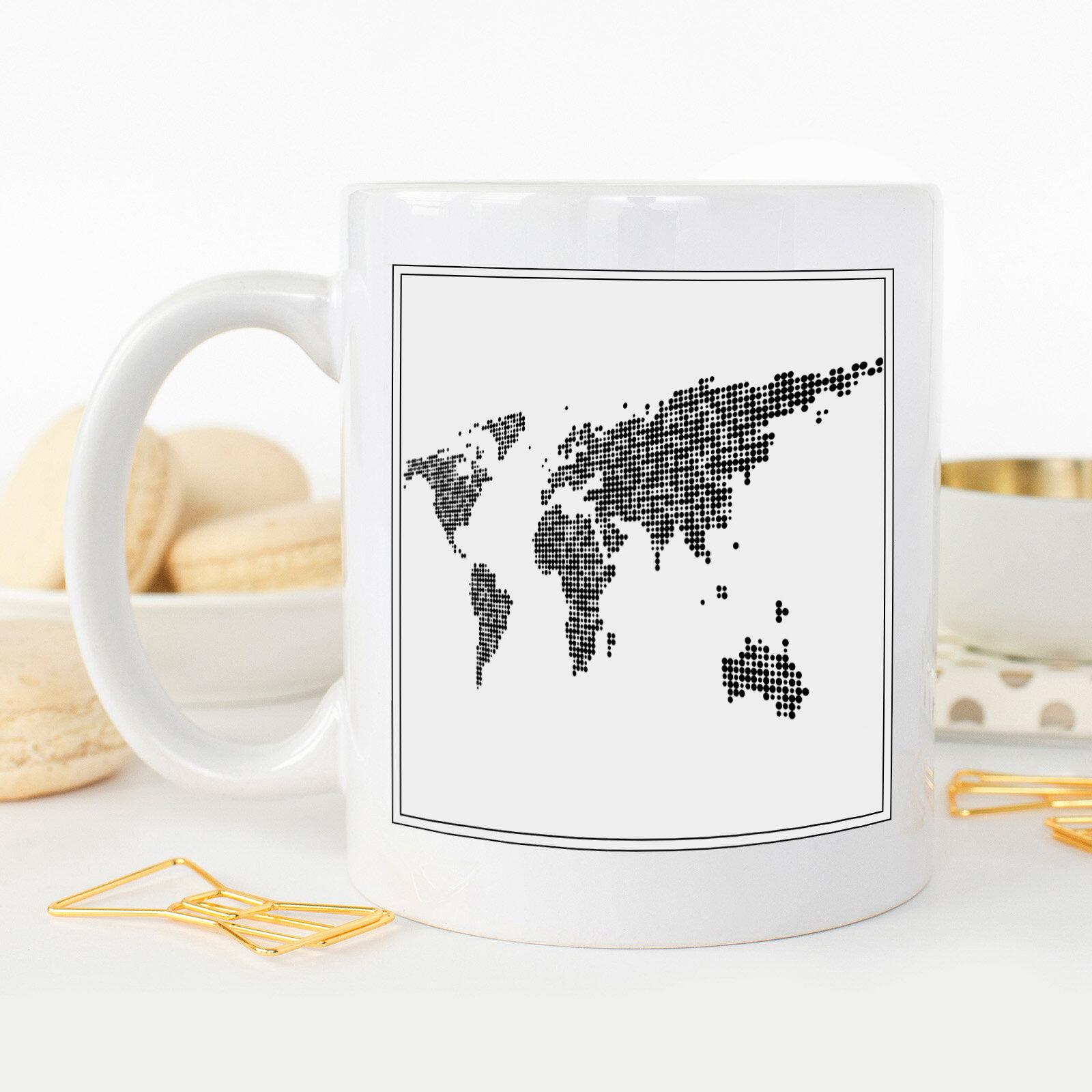 Big Box Art World Map Coffee Mug Wayfair Co Uk