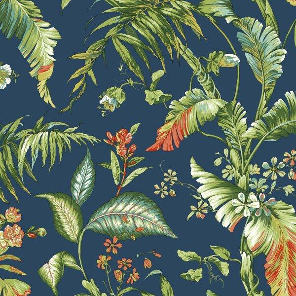 York Wallcoverings Ashford Tropics 27 X 27 Quot Fiji Garden