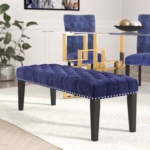 Erling Upholstered Bench by Willa Arlo In..