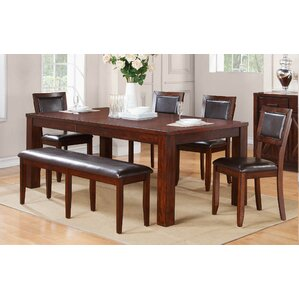 Brookstonval 6 Piece Dining Set by Red Ba..