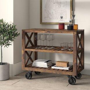 Telfair Rectangular Bar Cart