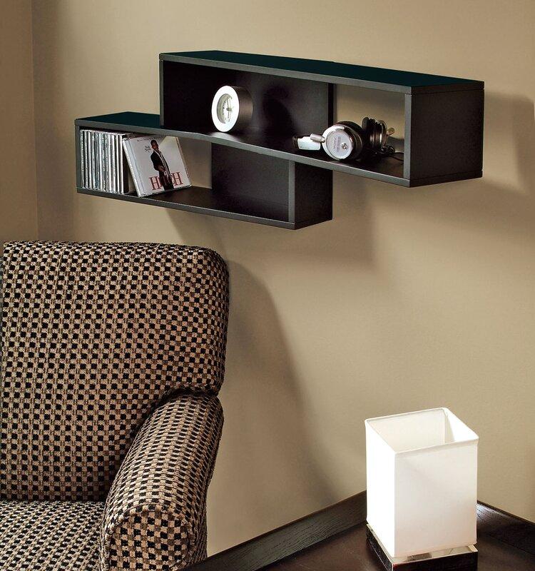 Nexxt Design Luca 38 Quot Angled Wall Shelf Amp Reviews Wayfair