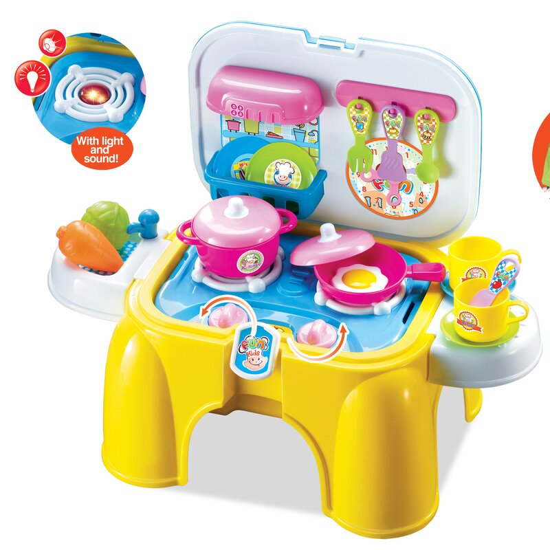 Berry Toys My First Portable and Carry Kitchen Play Set & Reviews ...