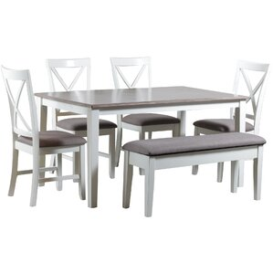 Amaury 6 Piece Dining Set by Laurel Foundry Mode..