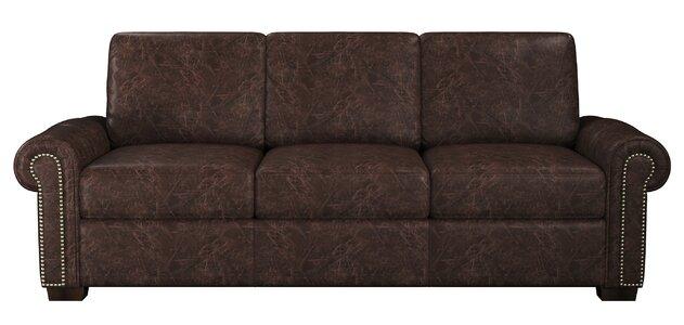 Westland And Birch Burke Leather Sofa Wayfair