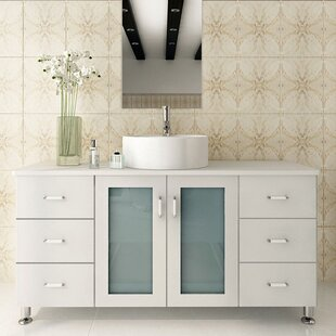 47 inch vanity top wayfair rh wayfair com 48 Inch Double Sink Vanity 48 Inch Double Sink Vanity