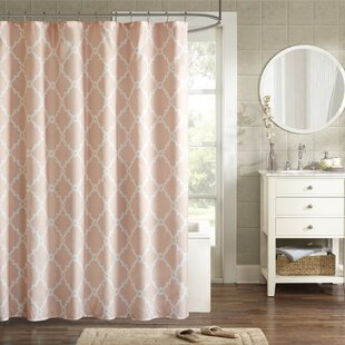 pale pink shower curtain. Alta Microfiber Shower Curtain Pink Curtains You Ll Love