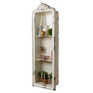 Charming Albrecht Rustic Vertical Wall Shelf