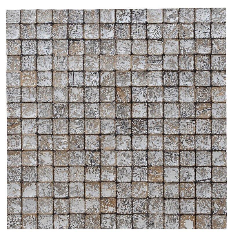 Kelapa 16 54 X Coconut S Mosaic Tile In Tumbled Granite