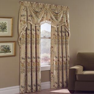 Jewel Nature Rod Pocket Single Curtain Panel