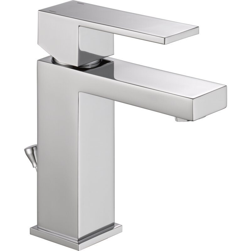 Delta Ara Single Hole Bathroom Faucet with Drain Assembly & Reviews ...