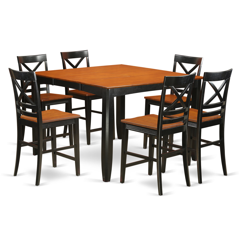Charmant Red Barrel Studio Tamarack 9 Piece Counter Height Pub Table Set | Wayfair