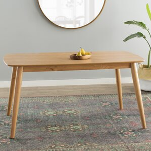 chastain wood dining table