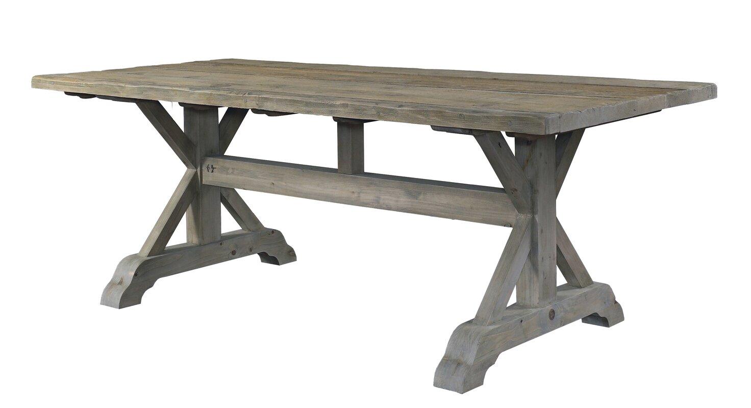 Padmas Plantation Salvaged Wood Dining Table & Reviews