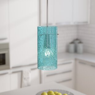 Aqua blue pendant lights wayfair save aloadofball Gallery