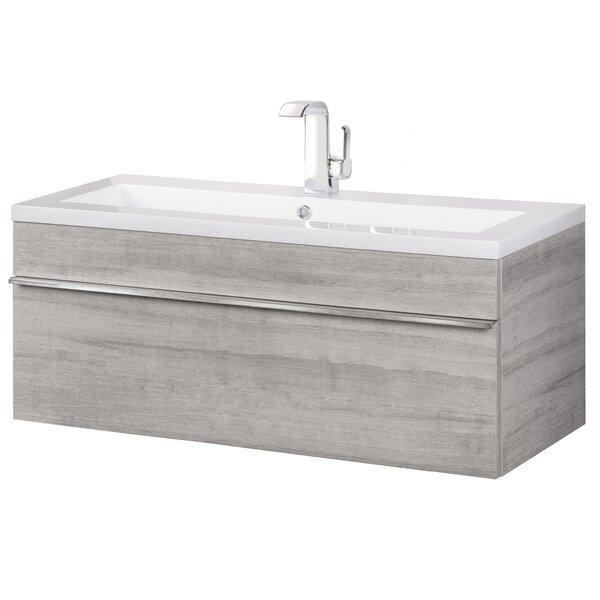 Modern Contemporary Trough Sink Vanity Allmodern