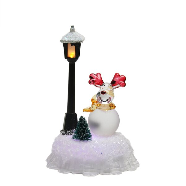 christmas indoor lamp post wayfairca