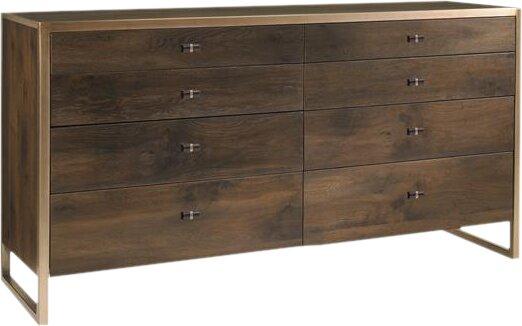 Artisans 8 Drawer Double Dresser