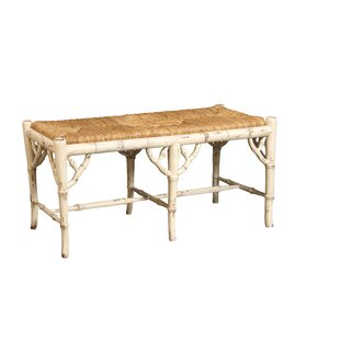 Chinoiserie Wood Bench