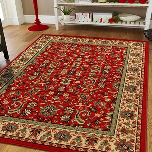Neil Large Oriental Red Indoor Outdoor Area Rug