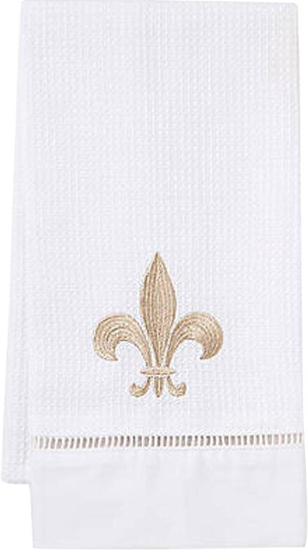 Jacaranda Living Fleur De Lis 100 Cotton Hand Towel Wayfair